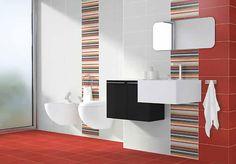 formatos 20x40 Enzo estancias:Baños            La siempre elegante combinacion del blanco con cualquier color consigue ambientes modernos, actuales donde el diseño de los azulejos decorativos protagonizan una decoracion luminosa y minimalista