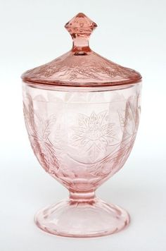 stunning pink things | pink depression glass, stunning, by june
