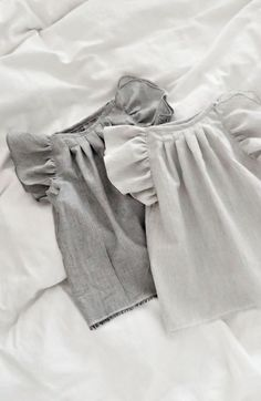 Handmade Organic Cotton Double Gauze Blouses | moonroomkids on Etsy