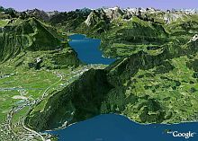 New Imagery in Google Earth0 including hi-res of Switzerland