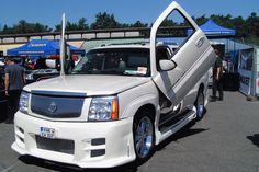 Cadillac Escalade with lambos More Likes On Facebook, Extravagant Homes, Cadillac Escalade, Salt Lake City, Training Courses, Kustom, Hot Cars, Exotic Cars, Automobile