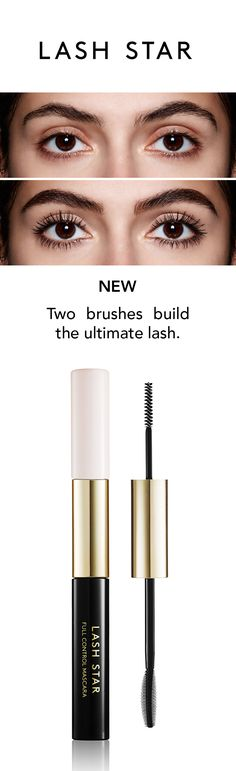 This breakthrough patented #mascara duo features two unique formulas and brushes to deliver the control needed to sculpt eyelashes to perfection. First, boost lash roots with a custom-engineered tightline brush that easily defines, separates and lengthens each lash from root to tip, laying the foundation for the magical second layer. Follow with a patented curved-silicone molded brush that adds buildable volume and curl extension without a hint of clumping.