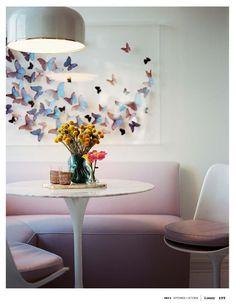 butterflies paper