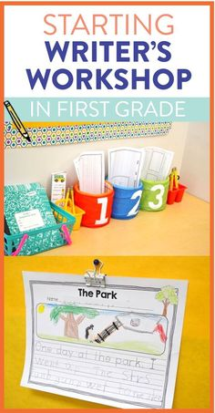 Getting started with writer's workshop in first grade can be tricky! Read these tips and tricks for getting your students ready from the beginning of the year.
