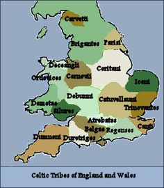 """CELTIC TRIBES OF ENGLAND, WALES AND CORNWALL: 'The Dumnonii inhabited Cornwall (Cornubia), Devon (Dyfneint- meaning """"deep valley dwellers"""") and Somerset (the """"Summer Land"""" of the Mabinogion). The name probably means """"the masters"""" or """"the dominators"""" and derives from a Gaulish word cognate with the Latin """"dominus"""". Lifestyles and types of settlements remained little changed from the Iron Age through the Roman period. The Celtic Kingdom of Dumnonia survived until the 8th century.'     ✫ღ⊰n"""