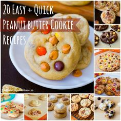 20 Easy + Quick Peanut Butter Cookie Recipes