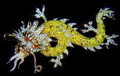 Butler & Wilson dragon brooch.