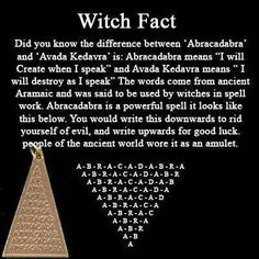 Witch Fact