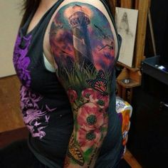 lighthouse tattoos - Google Search