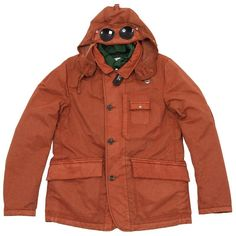 C.P. Company Tinto Frosted Goggle Jacket