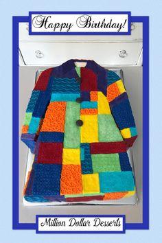 The Coat of Many Colors Cake! #coatofmanycolors #buttercreamasalways #milliondollardesserts