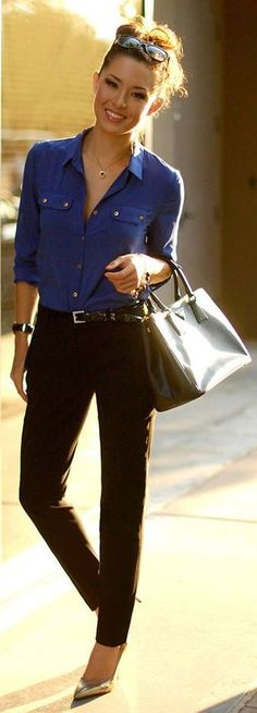 Pinterest. Like the top and pants but the shoes look to dressy for this casual look.