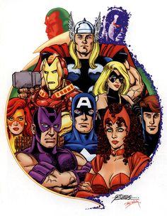 Avengers by George Pérez