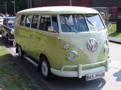1963-1967 T1 VW Bus vintage (Zollverein,Germany)