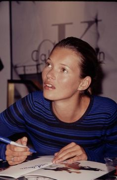 Kate Moss--gorgeous!