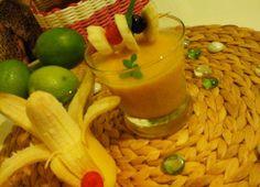 Smoothies, Panna Cotta, Ethnic Recipes, Food, Essen, Smoothie, Yemek, Smoothie Packs, Fruit Shakes