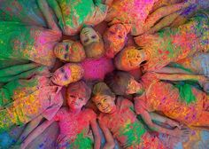 """Holi Wishes Messages 2021 During this spring here comes again """"Happy Holi""""""""Festival of holi"""" will be held on Monday, March 2021 and Monday, March Holi Festival India, Holi Festival Of Colours, World Festival, Diwali Festival, Spring Festival, Holi Colors, India Colors, Hindu Festivals, Indian Festivals"""