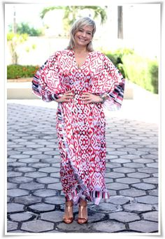 """ caftan look andrea fialho blog vanguarda"""