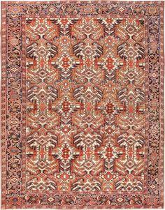 Antique Heriz Rug 47160 Main Image - By Nazmiyal  http://nazmiyalantiquerugs.com/antique-rugs/persian-rugs/antique-heriz-rug-47160/