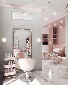 Interior Design Magazine, Interior Design Gallery, Salon Interior Design, Nail Salon Design, Nail Salon Decor, Modern Nail Salon, Home Beauty Salon, Beauty Salon Decor, Beauty Salon Design