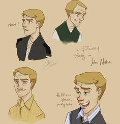 John, Disney-fied