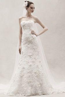 Oleg Cassini for David's Bridal | Martha Stewart Weddings