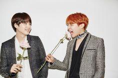 2016 MEN OF THE YEAR #방탄소년단 | GQ KOREA (지큐 코리아) 남성 패션 잡지 Suga & Jhope