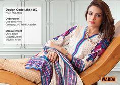 Warda Winter Grace Designer Collection Latest Catalog 2014
