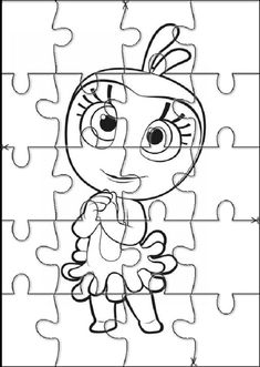 Garfield, Snoopy, 1, Fictional Characters, Crafts, Kids Puzzles, Toddler Activities, Colouring In, Brain Teasers