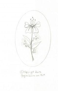 Medaillon de fleur 2 bis