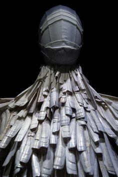 Alexander McQueen's razor clam shell dress (2001)