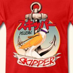 Pelican Skipper - Männer Premium T-Shirt