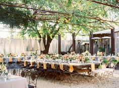25 Swoon-Worthy Ideas for a Boho Garden Wedding via Brit + Co