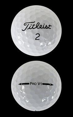 "Titleist Pro V1 2012 Golf Balls by Titleist Golf - ""Mint Recycled"" - standby gift idea"