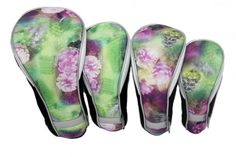 Check out our Night Orchid Taboo Fashions Ladies 4-Pack Set Golf Club Headcover! Find the best golf gear and accessories at Lori's Golf Shoppe. Click through now to see this!