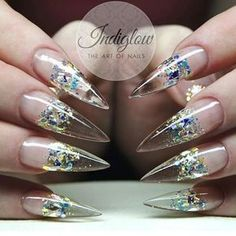 Ugly Duckling Nails Inc. Bling Nails, Stiletto Nails, Hot Nails, Hair And Nails, The Art Of Nails, Sassy Nails, Glamour Nails, Diva Nails, Nails Only