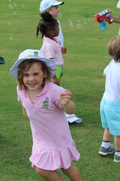 The Littlest Golfer Inc says YES to Nicole Weller PGA's Bubble machine!