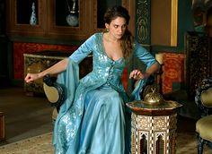 muhtesem yuzyil kosem, princess farya bethlen, 2x05, dress, costume