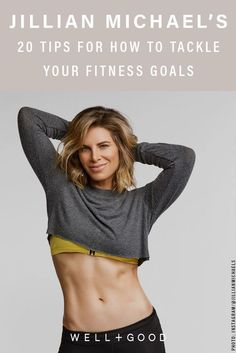 Jillian Michaels has got you covered with a fool-proof guide for actually sticking to your fitness goals 20 Tipps, wie Sie Ihre Fitnessziele erreichen. Fitness Tips For Women, Health And Fitness Tips, You Fitness, Physical Fitness, Fitness Goals, Fitness Style, Fitness Humor, Fitness Planner, Fitness Motivation