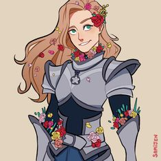 Queen of My Castle — samijen: Commission for 🌺🌸🌼🌻 Female Character Design, Character Creation, Character Design References, Character Drawing, Character Design Inspiration, Character Concept, Character Ideas, Character Reference, Dnd Characters