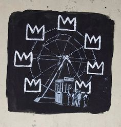 bansky per Jean-Michel Basquiat