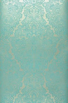 Perun | Turquoise wallpaper | Additional Wallpapers | Wallpaper from the 70s