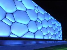 The Chinese National Aquatic Center, better known as the Watercube, recently won the most prestigious #architecture award from the Australian Institute of Architecture!    Read more: The Watercube Wins Australia's Highest Architecture Award | Inhabitat - Sustainable Design Innovation, Eco Architecture, Green Building