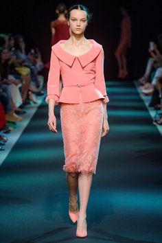 georges hobeika haute couture a/w 2013 Suit Fashion, High Fashion, Fashion Dresses, Womens Fashion, Elegant Dresses, Beautiful Dresses, Long Dresses, Mode Orange, Moda Retro