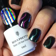 Born Pretty Store 3D Chameleon Cat Eye Magnetic Gel Soak Off BP-01 BP-02