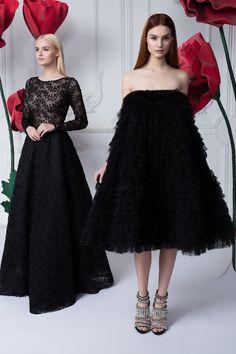 Платье «Джулия» черное — 34 990 рублей, Платье «Пирожное» — Цена по запросу