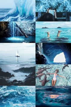 winner of the elemental theme - a gorgeous water aesthetic by and-i-hope-the-sun-shines. so bright and vivacious, i adore it. check out her wonderful blog.