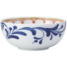 Dansk Northern Indigo Fruit Bowl - 100% Bloomingdale's Exclusive ($17) ❤ liked on Polyvore featuring home, kitchen & dining, serveware, multi and dansk