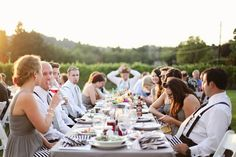 country vineyard wedding