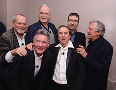 Here's What The 'Monty Python' Reunion Looked Like At The Tribeca Film Festival